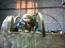 bronze Saint Exupery details (3)